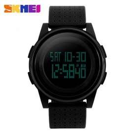 Jam Tangan Digital Pria SKMEI 1206 Original Watch - hitam