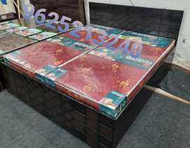 Brand new Double bed with storage 6×6 feet