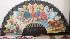 Wall Hand Fan - Room, Antique Home Decoration