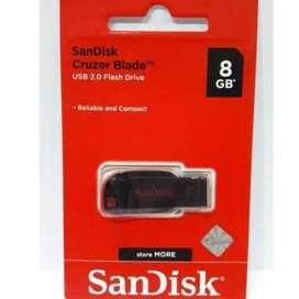 Flashdisk SanDisk 8GB Cruzer Blade Original
