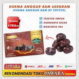 Kurma Bam Kurma Anggur Premium Crystal Kurma Anggur Madu 500gr