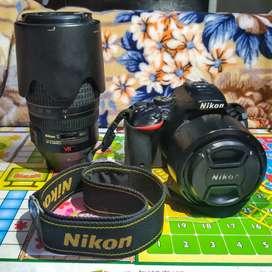 Nikon D5500 - Body, Prime Lens & Zoom Lens