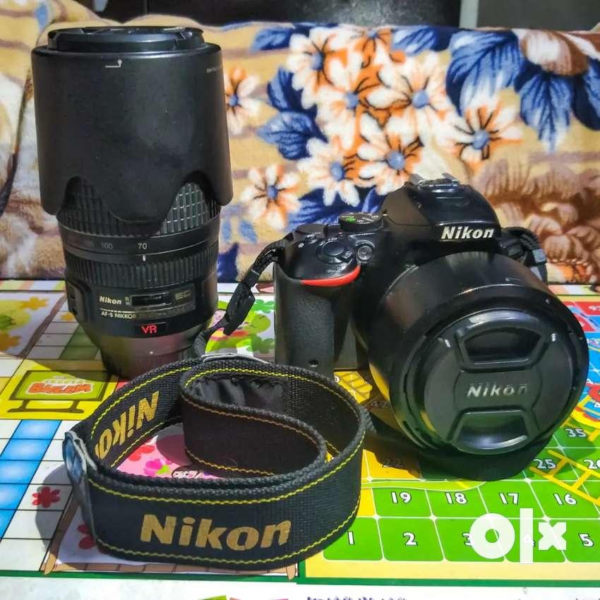 Nikon D5500 - Body, Prime Lens & Zoom Lens 0