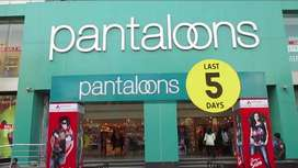 OPENING IN PANTALOONS SHOPPING MALL ///