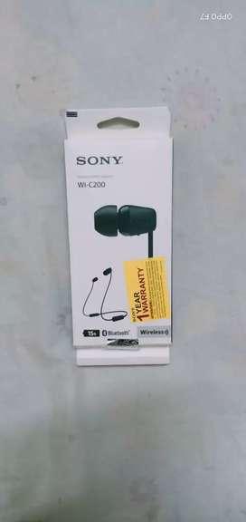 Sony Bluetooth headset brand new
