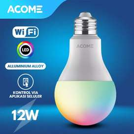 Lampu Bohlam Smart Wifi ACOME 12W RGB