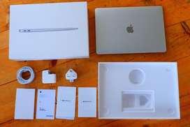 Macbook Air 2020 256gb 13 inch Garansi Aktif 2021 Fullset
