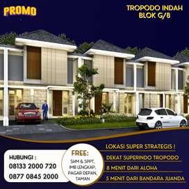 Dijual Rumah 1 Lantai Tropodo Indah 500 Jutaan Minimalis