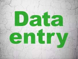 Urgent requirement of Data entry job(HR Payal mam)No charges
