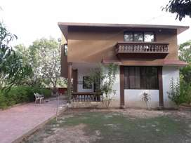 Farmhouse villa with all Modern Amenaties. Pollution free Vilage like