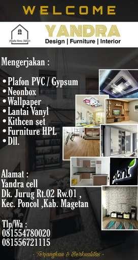Plafon PVC & Interior rumah