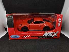 Diecast Mobil Porsche 911 GT3 RS Welly Nex