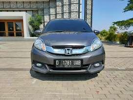 Spesial promo! Kredit murah Honda Mobilio E manual 2016 new look!!