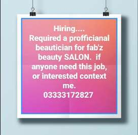 Need a female worker