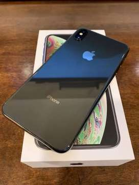 Iphone XS Max 64gb Black Colour excellent condition With Bill Box