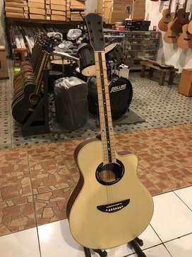 Gitar akustik fingerboart maple Apex