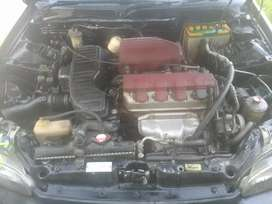 Honda civic black colour and good condition ful automatic