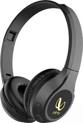 Infinity (JBL)Glide500 BluetoothHeadset(Black, On the Ear)New open box