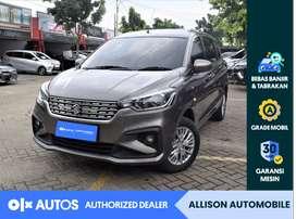 [OLX Autos] Suzuki Ertiga 2019 1.4 GL AT Bensin Abu Abu #Allison