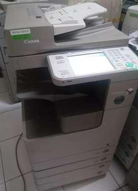 Mesin Fotocopy Canon IR Advance Bisa Print Scan A3 Free Paket
