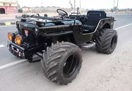 Open Willy modified jeep