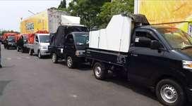 Jasa angkutan barang mobil pick'up bak 25 jam
