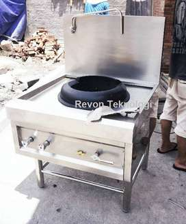 Kompor WOk chinese food seafood, kwali range High Pressure probolinggo