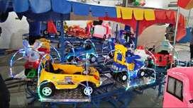 odong kereta rel biru pancingan elektrik kereta mini coaster NP