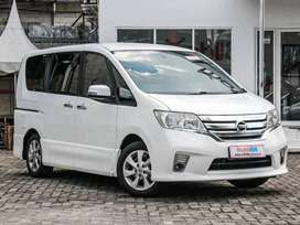 Dijual Nissan SERENA HWS Automatic 2013 Silver Bisa Cash atau Credit