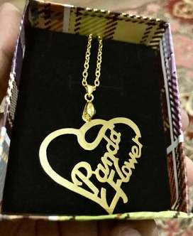Gold plated lockets