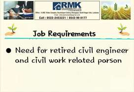 Need for civil Engineer,