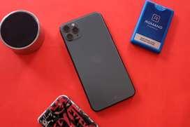 Iphone 11 pro max 256gb midnight green Tam/ibox