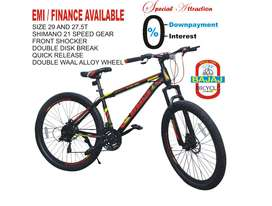 GEAR MTB CYCLE 24, 26. 27.5 AND 29 AVAILABLE