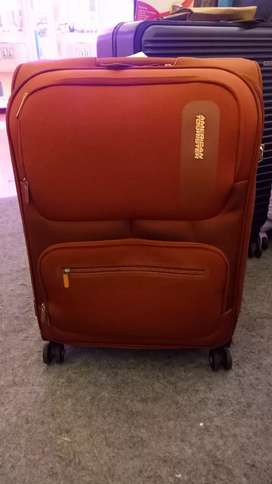 Koper softcase merk american tourister original authentic size 18 cbin