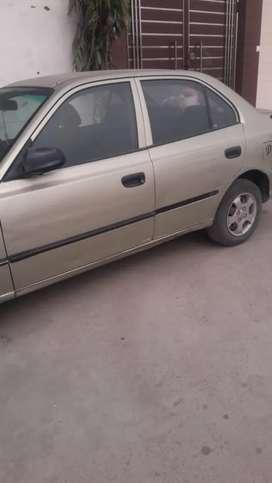 Hyundai Accent 2002 Petrol 82000 Km Driven