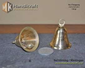 Bel Lonceng Kuningan ukuran Tanggung (no 3) - Lonceng Bel - Klinting