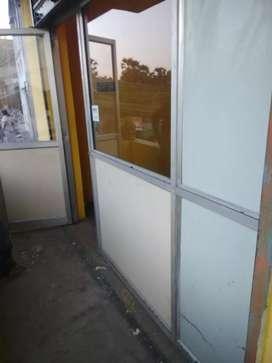 Alluminiam front door frame