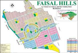 Faisal Hills plot for sale in A block