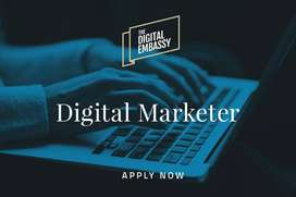 Digital Marketer is Required
