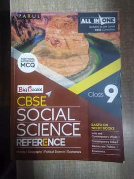 CBSE Social Science Reference Book for Class 9