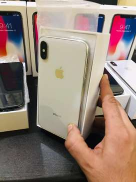 fresh pieces of Apple iphone X available in both variants