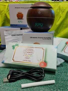 of Taffware Aromatherapy Air Humidifier Desain Kayu - K-H41