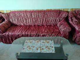 Sofa covers jacquard
