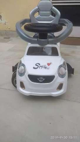Kids car toddler pram cycle