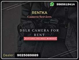 DSLR Camera Rental (Salem)
