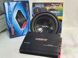 Paket power 4ch vs subhover 12in dobel koil ( FM audio )