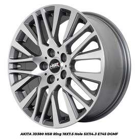 velg model terbaru ring 18 (AKITA)Innova,CRV,HRV,Xpander,Odyssey dll