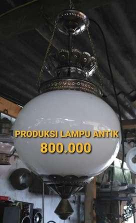 Lampu Gantung Antik Klasik Kuningan Asli hias Joglo Gebyok Gasebo