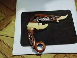 Kerambit tradisional minang ukir