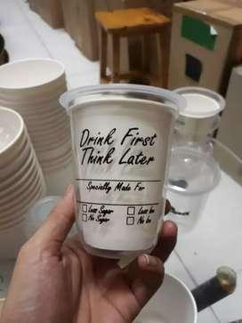 Gelas plastik Hits CUP PET 14oz